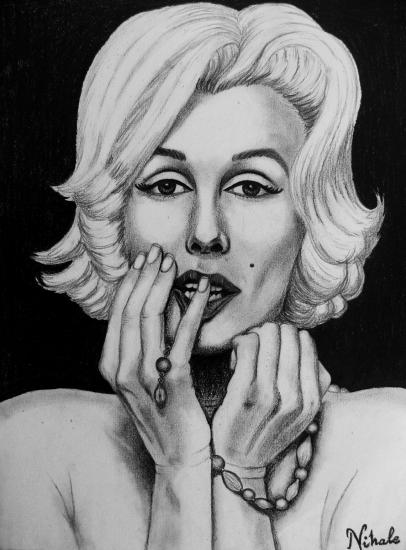 Marilyn Monroe por Nihale